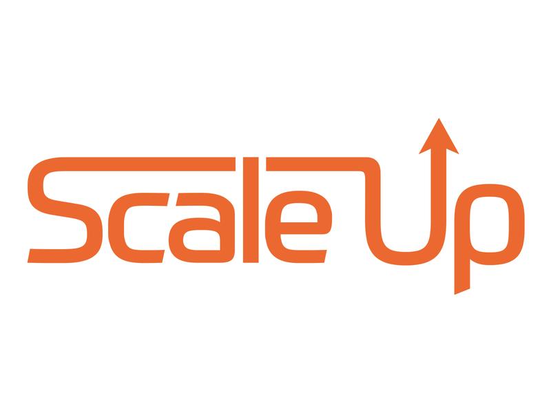 Scale Up Logo branding vector design logo