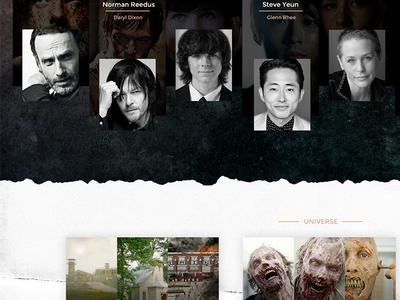 The Walking Dead Webdesign twd daryl rick dead walking the webdesign