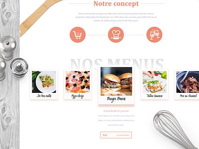 Tasty Tray Webdesign tray tasty food webdesign