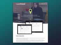 Casefriend Landing Page