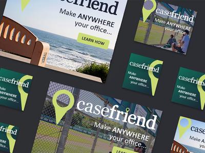 Casefriend Ad Campaign