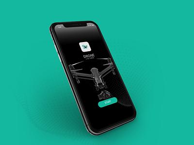 Drone App app illustrator brandidentity logodesign logo startup creative brand