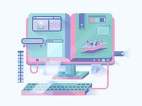 Computer Design Processing