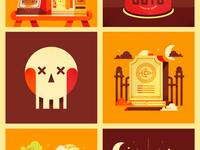 Series of Halloween Designs