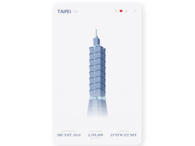 Taipei taipei dailyui