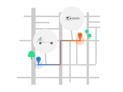 Lumberjack Connected visual design peer-to-peer