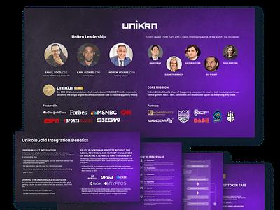 Unikrn PowerPoint Presentation presentation powerpoint