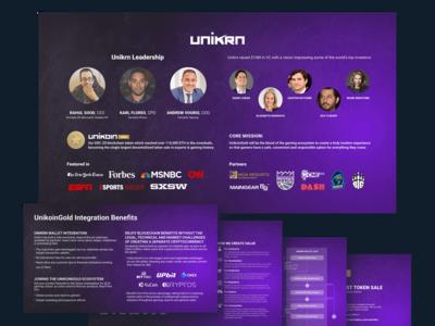 Unikrn PowerPoint Presentation