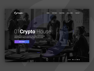 Cryptohouse zubrik tomas 01people wazzupa violet website web house currency crypto