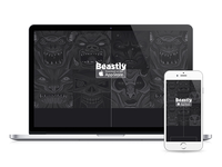 Beastly Landing Page