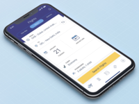 iOS Travel App - Search flights