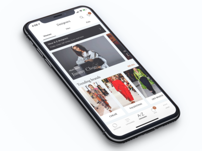 Luxury ecommerce - Ounass 'Designers'