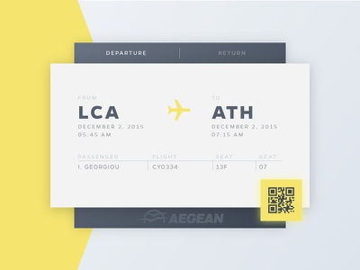 Daily UI - Day 24 - Boarding Pass airlines e-ticket airplane ticket air pass boarding day024 daily100 dailyui ui