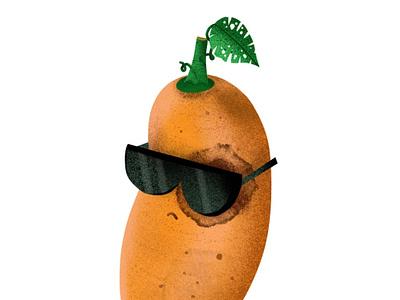 Sweet Potato Gang pen draw drawing illustration adonit iphone iphonexs iphonexsmax procreate sunglass potatogang gang potato vege vegetable