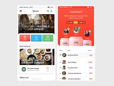 Yenkii ecommerce app yenkii mobile app ui ecommerce app