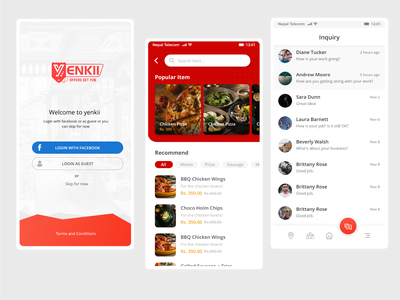 Yenkii Mobile App mobile app yenkii ecommerce ecommerce app app ui