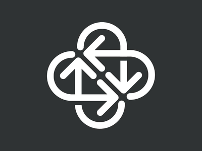 Cross and Arrows arrows logo arrow cross