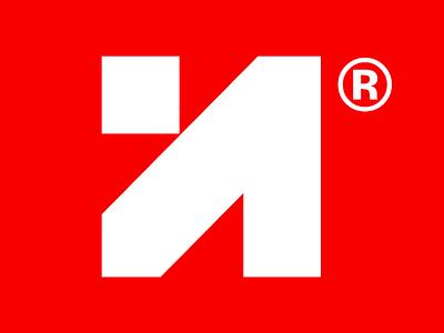 Logo for Neo92 monogram negative space geometric minimal arrow logo n