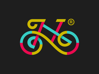 Bicycle logo cycling logo bicycle logo logo bike logo cycling colorful color bicycle bike