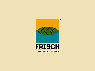 FRISCH Visual Identity brand identity visual identity illustration geometric logodesign design branding logo