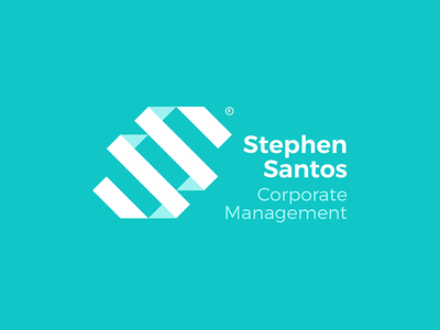 Stephen Santos Logo Concept brand concept logo concept monogram geometric logodesign design minimal branding logo