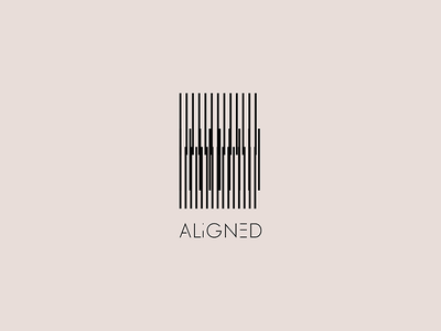 Aligned Logo & Brand Identity visual identity abstract graphic design geometric logodesign minimal design branding logo