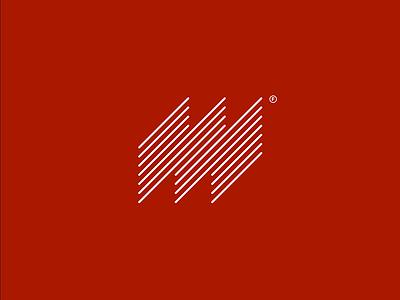 Margo Logo Concept visual identity monoline monogram geometric logodesign minimal design branding logo