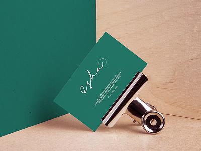 ESHA Visual Identity visual identity logotype logodesign minimal design branding logo