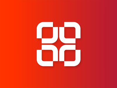 Health App Logo Exploration monogram geometric logodesign minimal design branding logo