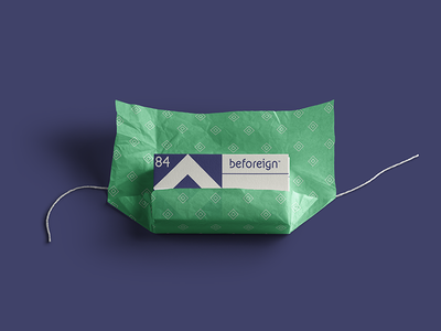 Beforeign Visual Identity Concept brand identity mockup graphic design visual identity minimal design branding