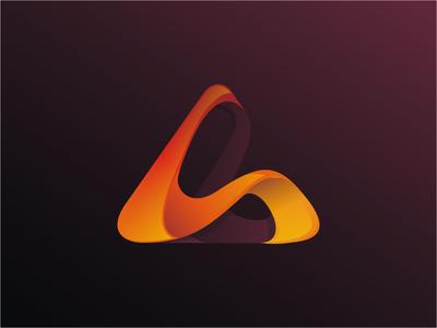 Fluid Triangle logo (for sale)