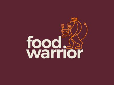Food Warrior Logo