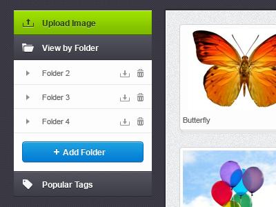 Image Manipulator Menu menu navigation dark texture
