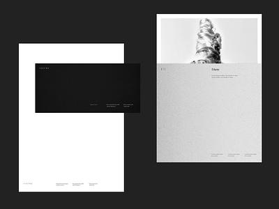 Imatra · Stationary envelope typography logo photography branding photography minimal identity design branding
