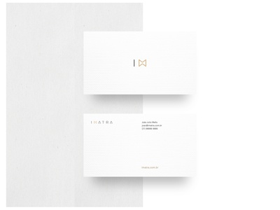 Imatra · Business Card White