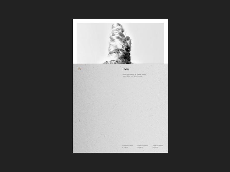 Imatra · Stationary minimalist elegant vector typography logo photography identity minimal branding design