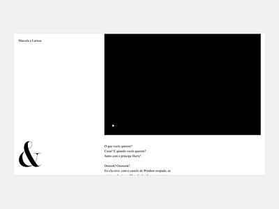 Badalo Prototype interaction design interaction typography minimal design