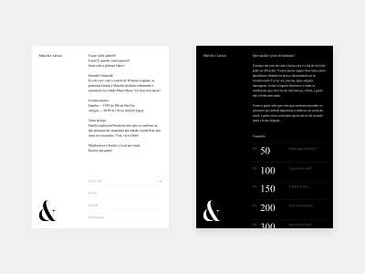 Invitation Tablet ui interaction design interaction typography minimal design