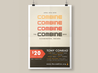 Poster for The Combine 2015