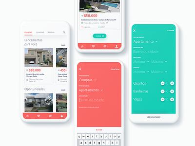 JP Brokers - Immobile screen search screen filter screen app design design mobile mobile design app screen real estate search filter app immobile