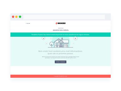 JP Brokers - Sucess sucess screen real estate web design sucess