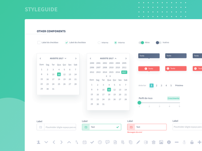 Design Styleguide ui kit design system uikit ui colors sketch components designsystem design styleguide