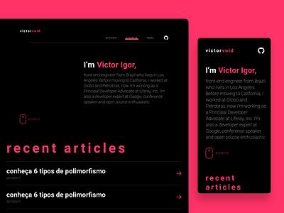 Portfolio - Front End Engineer portfolio design web design engineer front end design portfolio