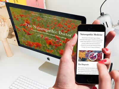 Naturopathic Medicine Website