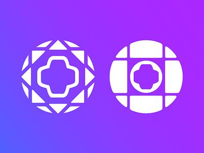 Physicians Health & Retirement Program — Rough 2 health physician doctor logo geometric cross