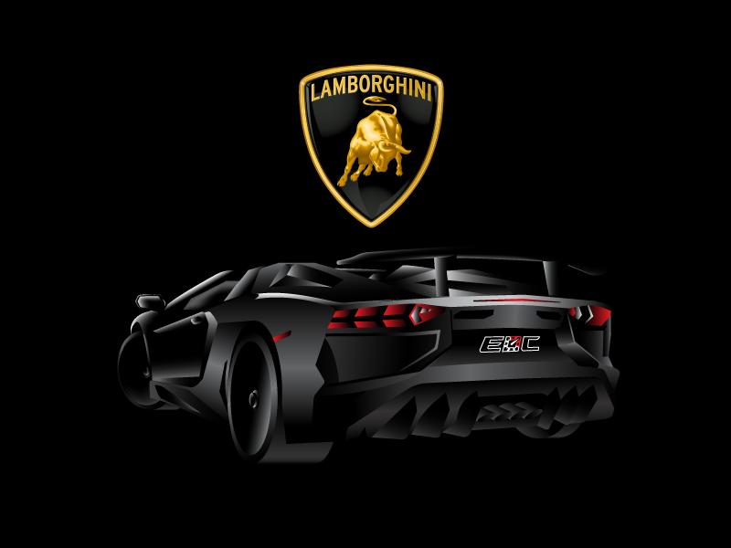 Lamborghini Aventador Sv Final By Simon Andrys Dribbble Dribbble
