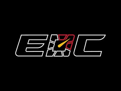 Exotic Drive Club - EDC tachometer logo illustration car club