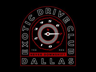 Exotic Drive Club - Tshirt Concept 2
