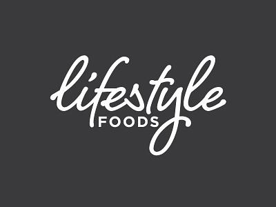 Lifestyle Foods Logo logo design script logo