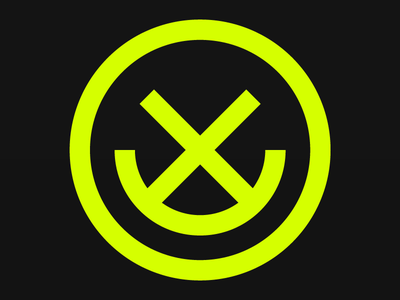 Happymess abstract symmetry highlighter exploration logo design logo